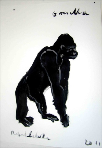 Gorilla by Robert Clarke