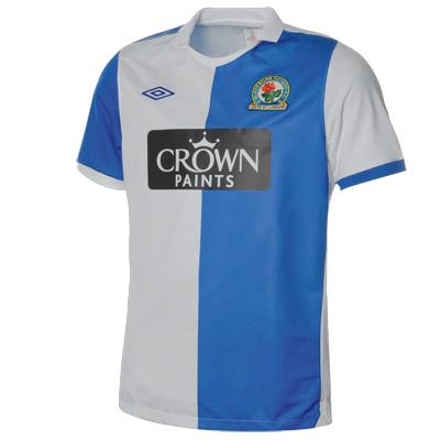Blackburn Rovers strip