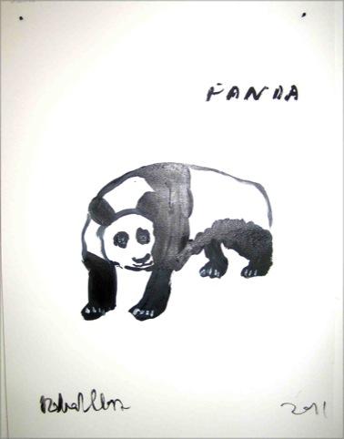 Panda by Robert Clarke