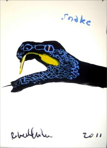 Snake by Robert Clarke