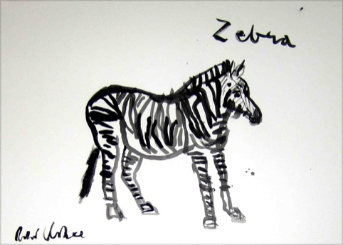 Zebra by Robert Clarke