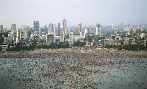 Beyond the high-rise city, religious festivals regularly transform Mumbai's waterfront by Jehangir Sorabjee