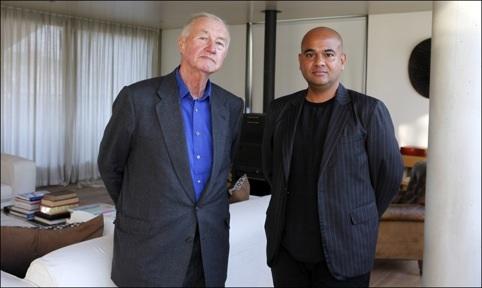 Terence Conran and Daljit Singh