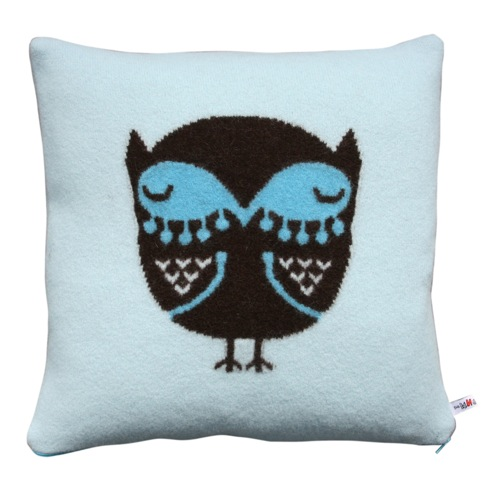Donna Wilson's Blue Owl Cushion