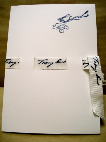 Stationery by Tracey Emin