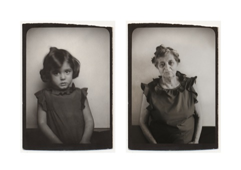 Clarisse d'Arcimoles, Naddy Photomaton (Grandmother), 1929 - 2009 © Clarisse d'Arcimoles