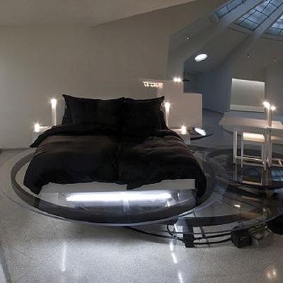 Carsten Holler's Revolving Hotel Room
