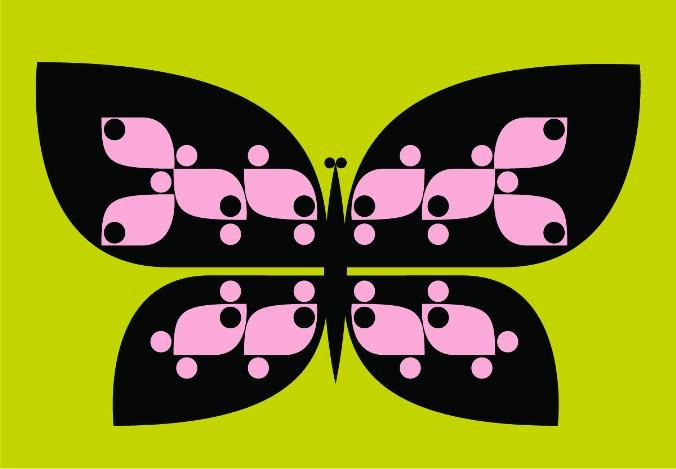Paul Wearing Butterfly