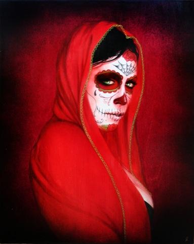 Red Novia by Sylvia Ji