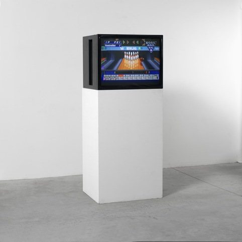 Self Playing Sony Playstation 1 Bowling, 2008