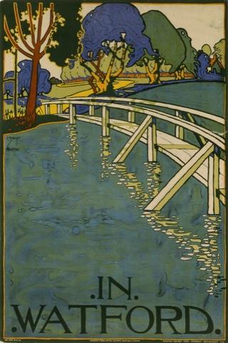 In Watford, 1915