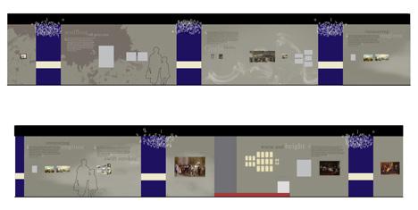 Dickens Manuscript Wall