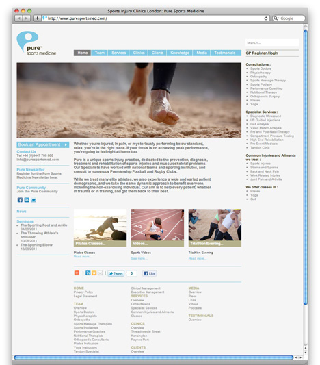 PSM website