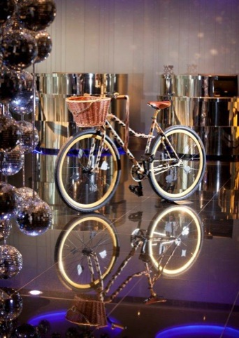 Alice Temperley's bike