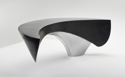 Crescent Bench by Ben Barrell