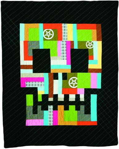 Boo Davis - Skullfucked Quilt Design