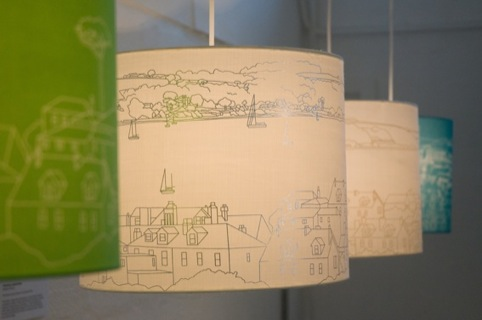 Falmouth Lampshades by Charlotte Tangye
