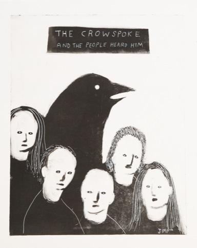 The Crow Spoke