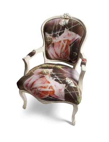 Undergrowth Design bespoke Louis XIV chair