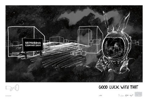 We colonise the moon: 'Good Luck With That' by Sue Corke and Hagen Betzweiser