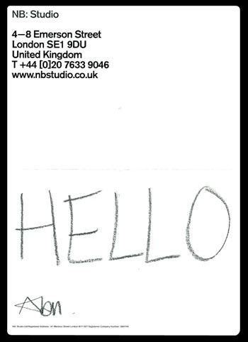 NB Studio's letter