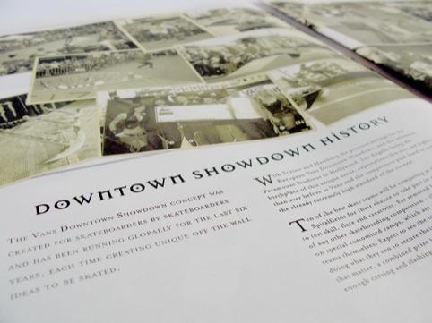 history of a showdown