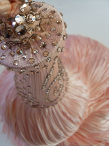 up close and personal with Dita Von Teese's tassel