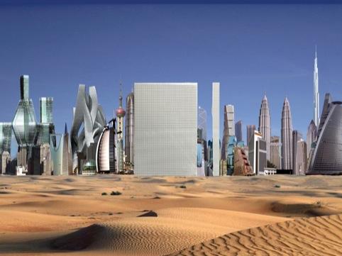 Dubai Renaissance 2006 C OMA