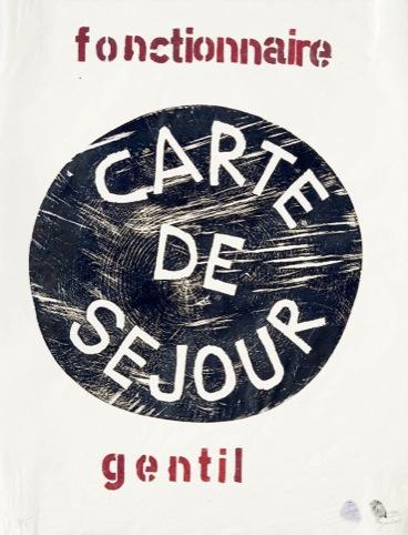 Barthélémy Toguo, Fonctionnaire Gentil, courtesy Galerie Lelong