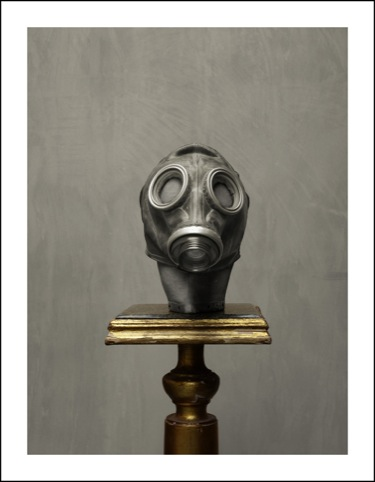 gas mask head