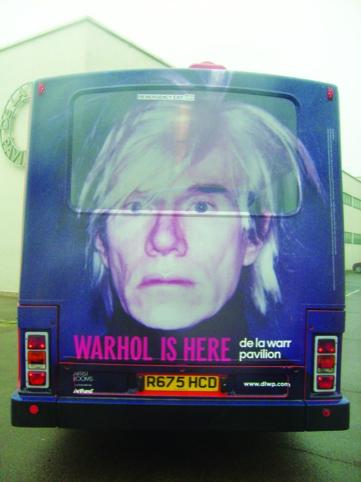 Warhol bus