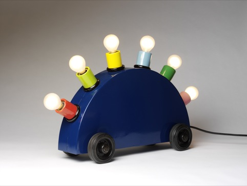 Martine Bedin (for Memphis), Super Lamp 1981