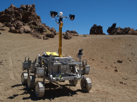 Bridget, Mars Rover