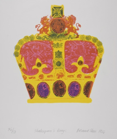 Bernard Cheese – Shakespeare's Kings, Lithograph, 1964