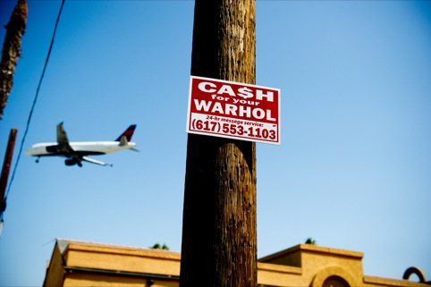 Cash for your Warhol, San Diego CA