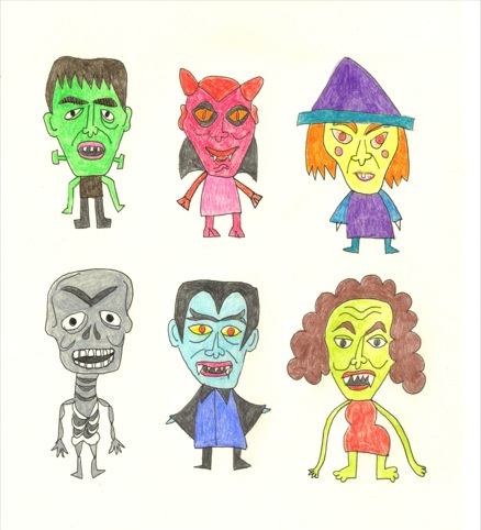 Ghoulies by Jennifer Camilleri