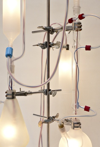 Rolf Sachs, Light Chemistry (detail 1) 2011