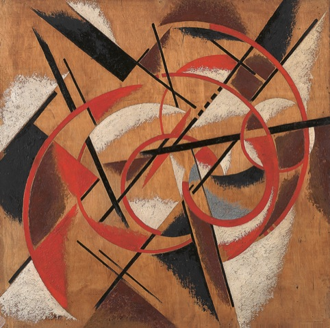 Spatial Force Construction by Liubov Popova