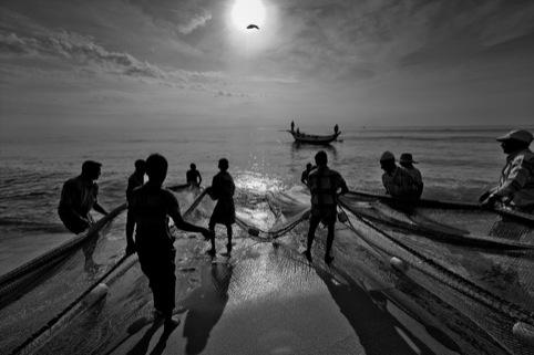 Tsunami fishermen 2008