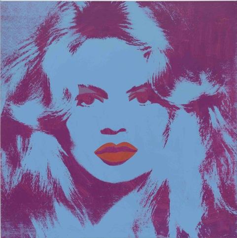 Warhol,  Brigitte Bardot 1974