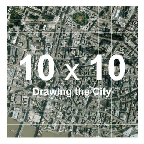 10x10 Drawing in the City
