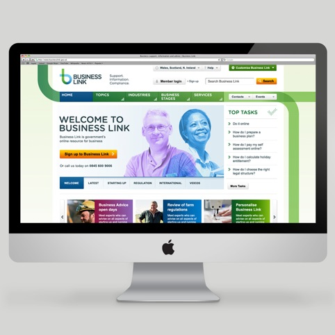 Business Link website