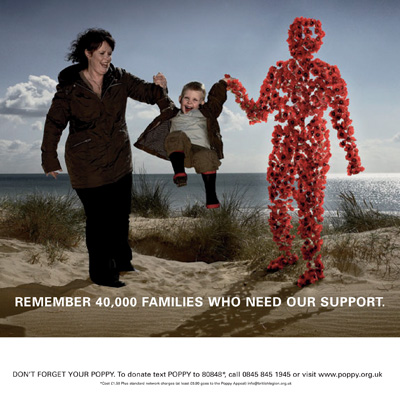 The Gate's 2008 Poppy Appeal poster