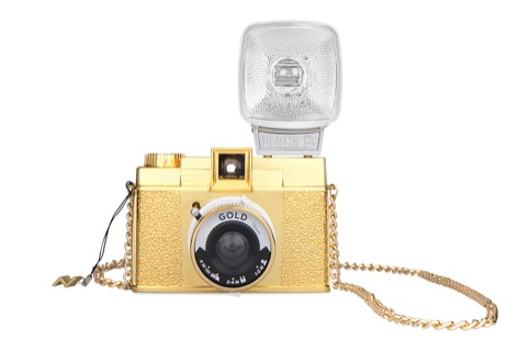 Lomography Diana F+ Gold Edition