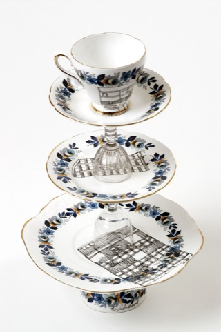 Esther Coombs cake stand