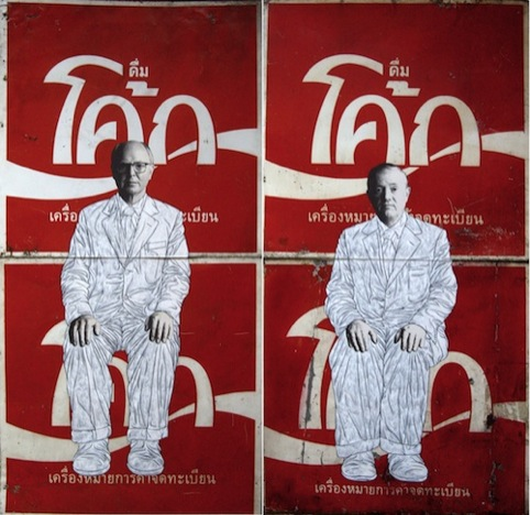 Gilbert and George on Coke