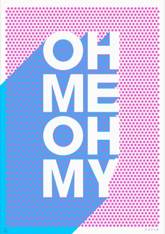 James Joyce, Oh Me Oh My at Outline Editions