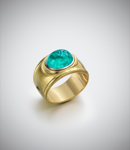 Leo de Vroomen, Paraiba Tourmaline and Gold Bangle 2011
