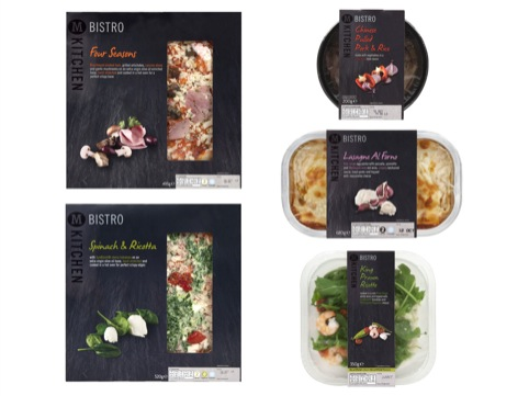 Morrisons Bistro packs