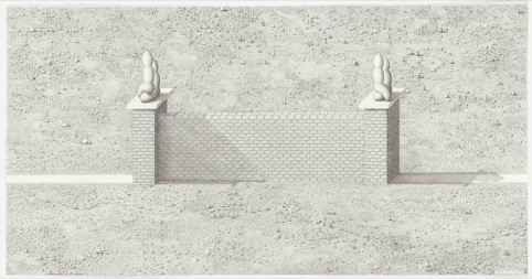 PAUL NOBLE A Wall is a Path, 2011